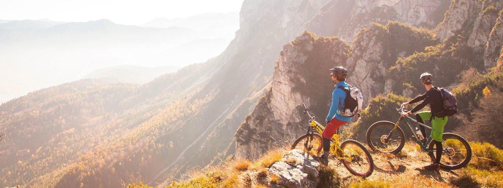 Mountain bike in Trentino